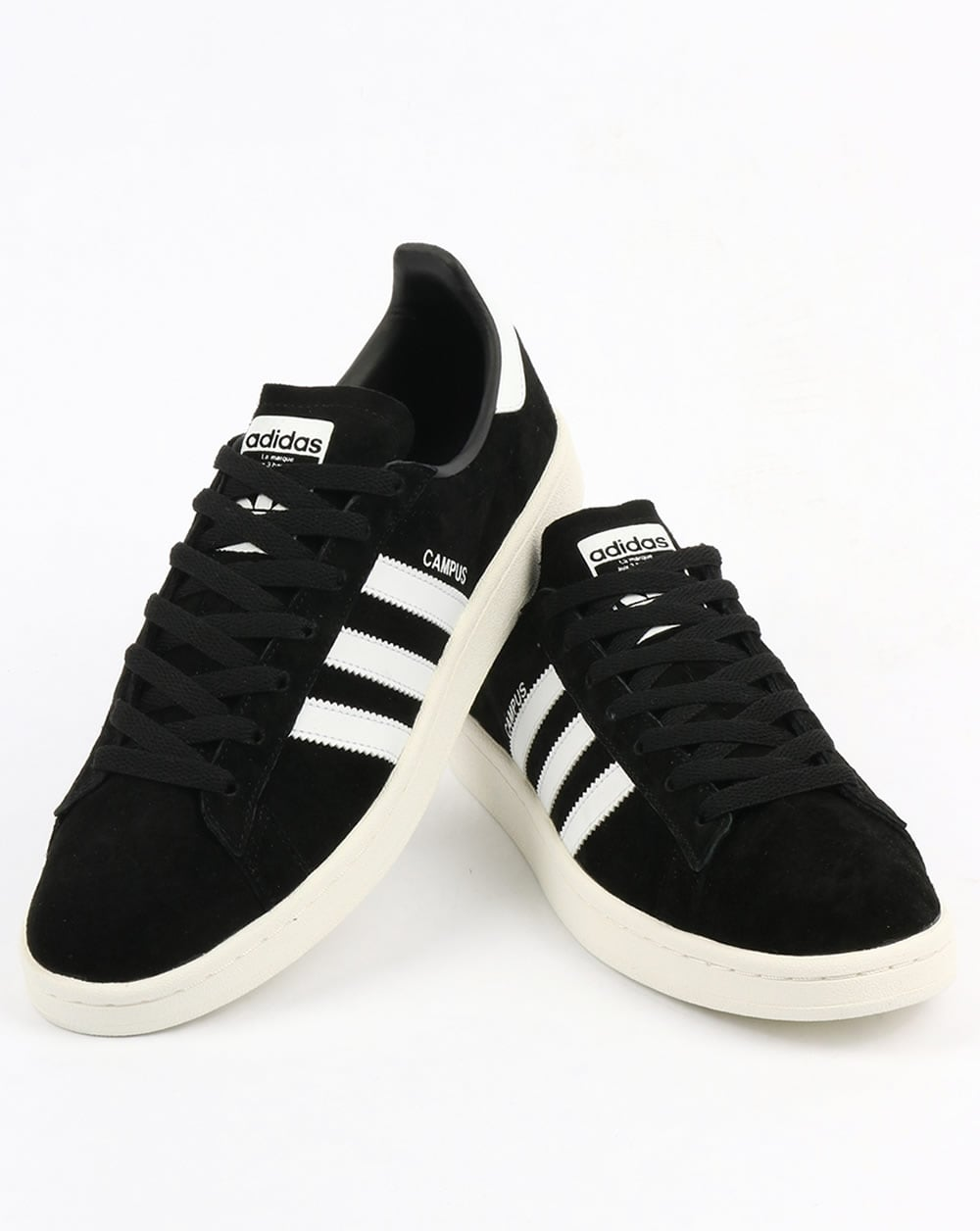 big sale 7490f 517e6 Adidas Campus Trainers BlackWhite