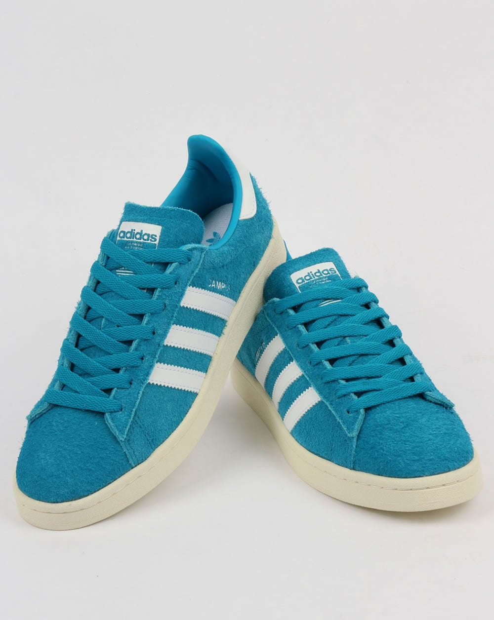 the sale of shoes order online sale uk Adidas Campus Trainers Bold Aqua/White
