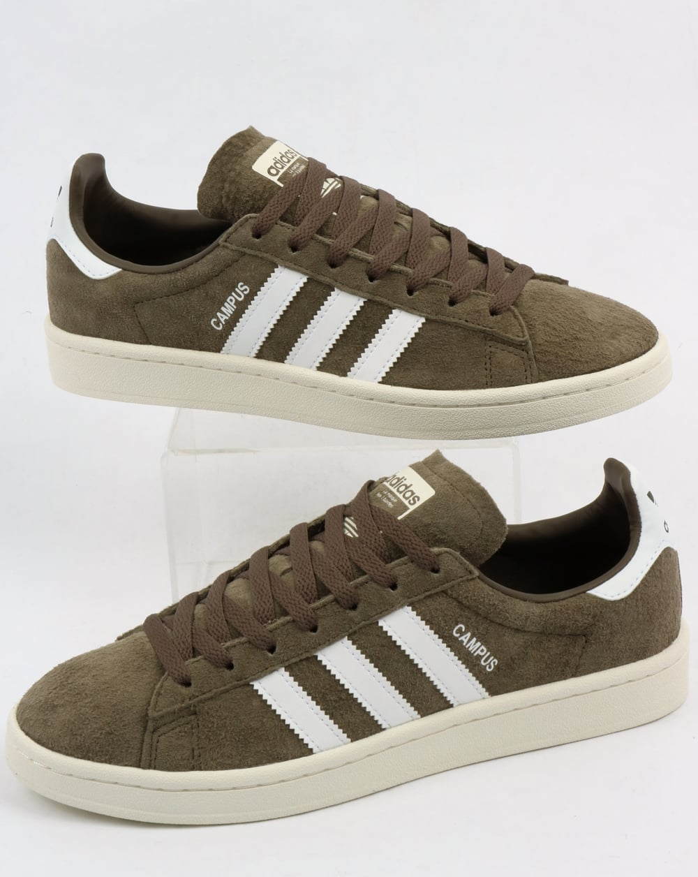 finest selection 713bf 1cc8b adidas Trainers Adidas Campus Trainers Branch Green White