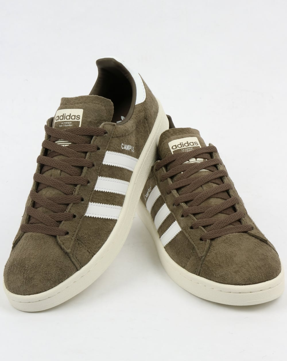 Adidas Campus Trainers Branch GreenWhite