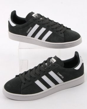 adidas Trainers Adidas Campus Trainers Charcoal Grey /white