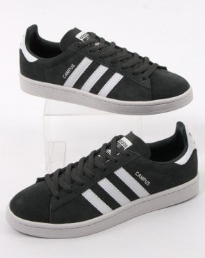 Adidas Campus Trainers Charcoal Grey /white