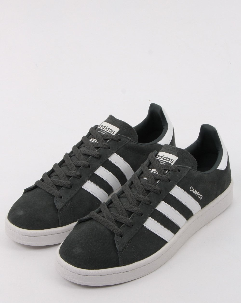 dfd7c6d6cf7d2b Adidas Campus Trainers in Legend Ivy and White