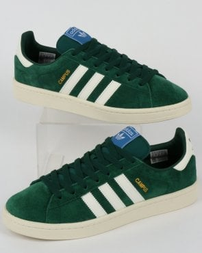 adidas Trainers Adidas Campus Trainers Collegiate Green/Cloud White