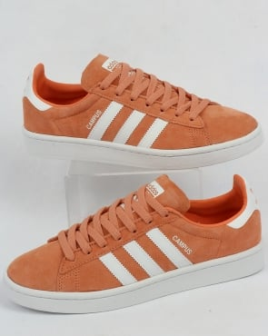 adidas Trainers Adidas Campus Trainers Easy Orange/White