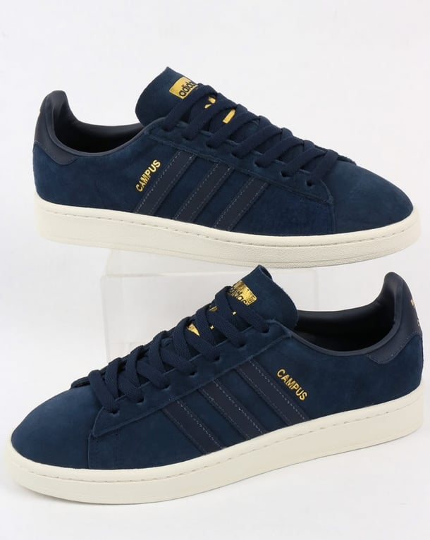 Adidas Campus Trainers Navy / Navy Reflect