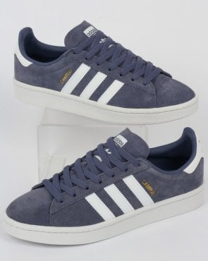 adidas Trainers Adidas Campus Trainers Raw Indigo/White