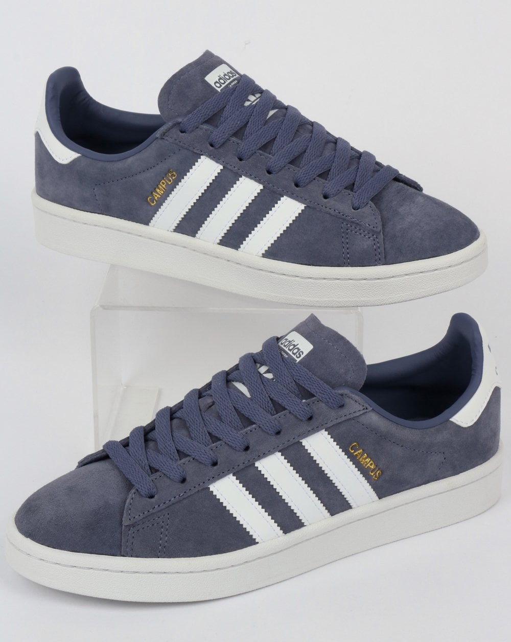 Adidas Campus Trainers Raw IndigoWhite
