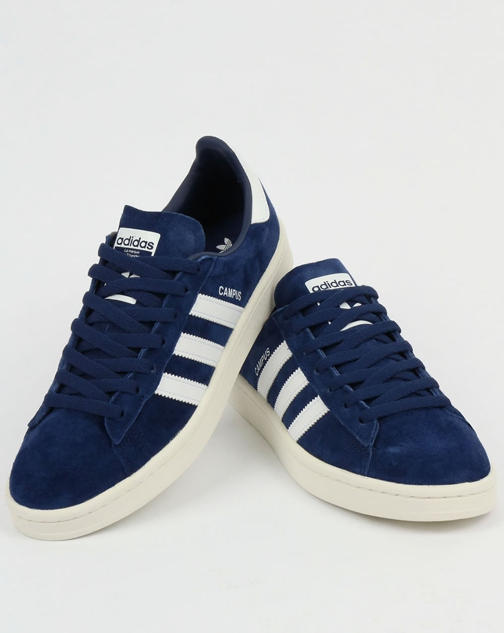 b7c89283ce3b36 adidas Trainers Adidas Campus Trainers Rich Navy White