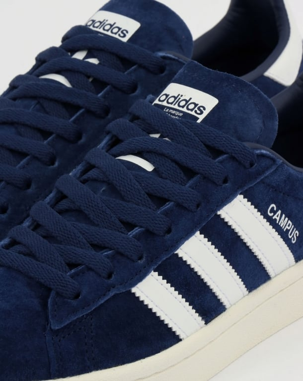 Adidas Campus Trainers Rich Navy/White