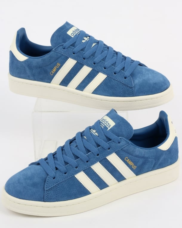 Adidas Campus Trainers Trace Royal/Off White
