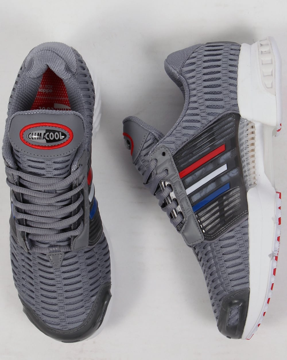 04f97eb2363 Adidas Clima Cool 1 Trainers Grey Red
