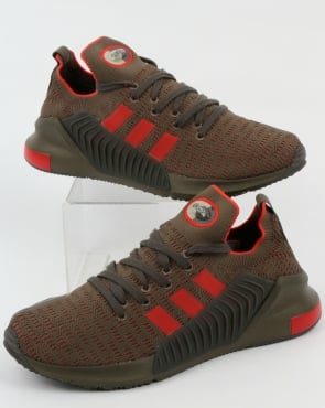 adidas Trainers Adidas Climacool 02.17 PK Trainers Branch/Red
