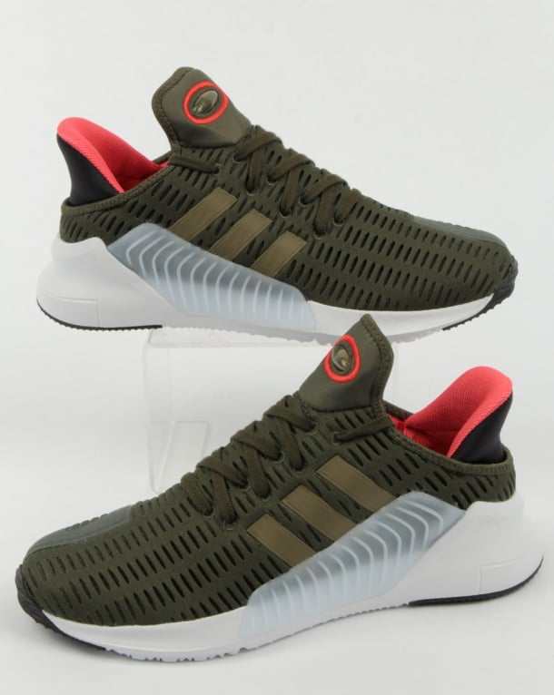 Adidas Climacool 02/17 Trainers Night Cargo/Olive