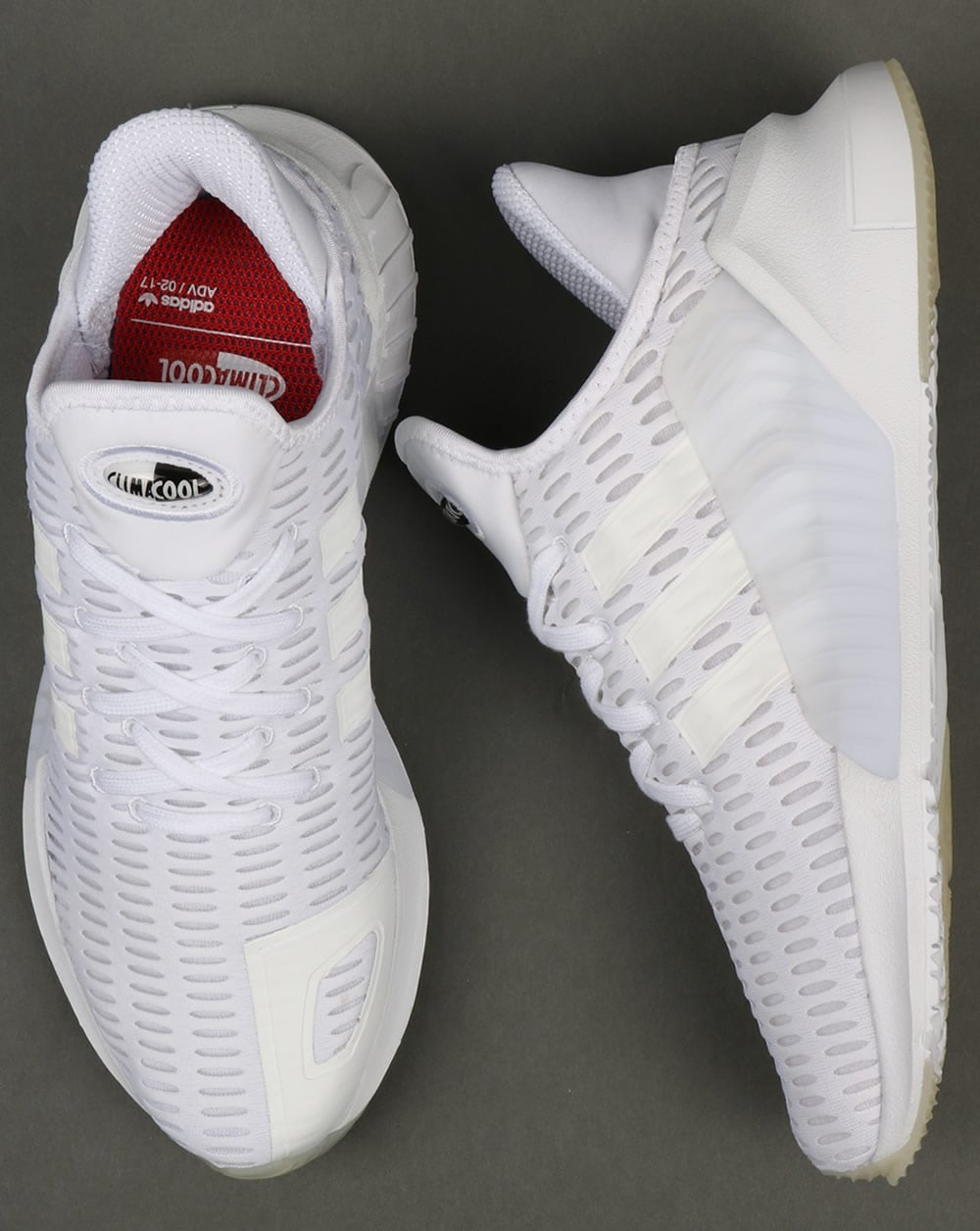 5d14900fd4c Adidas Climacool 02.17 Trainers Triple White