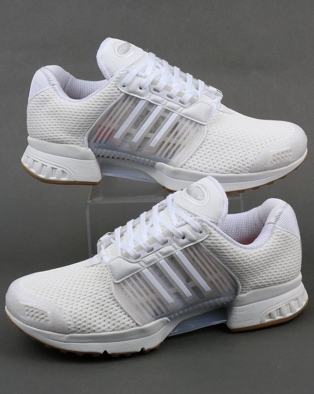 reputable site 9d78a 9209d Adidas Climacool 1 Trainers White/Gum