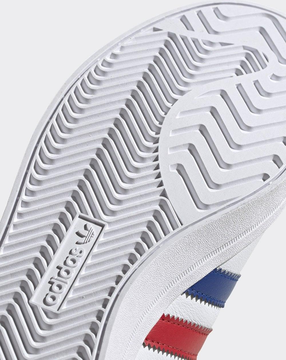 Adidas Coast Star Trainers WhiteRoyalRed