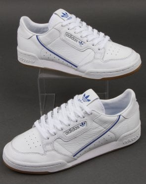adidas Trainers Adidas Continental 80 x TFL Trainers White/grey/blue