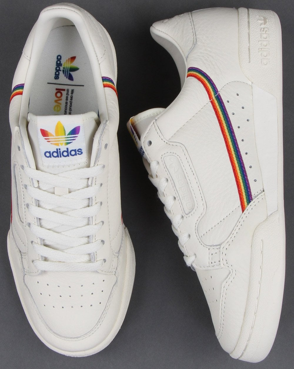 Adidas Continental 80s Pride Trainers