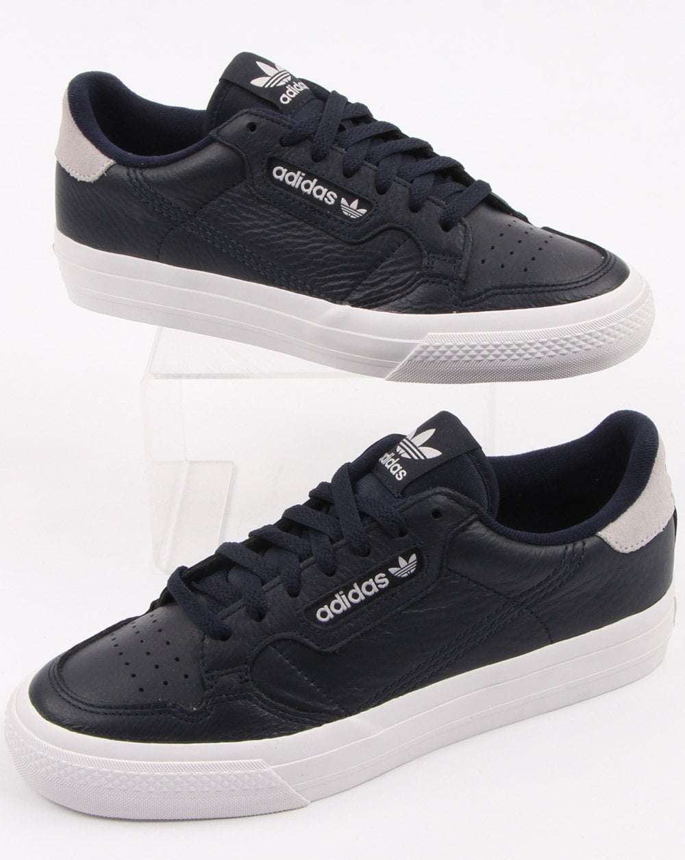 Adidas Continental Vulc Trainers Navy