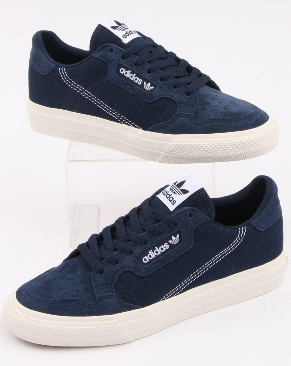 best authentic 9ea1d 32c69 adidas Trainers Adidas Continental Vulc Trainers Navy