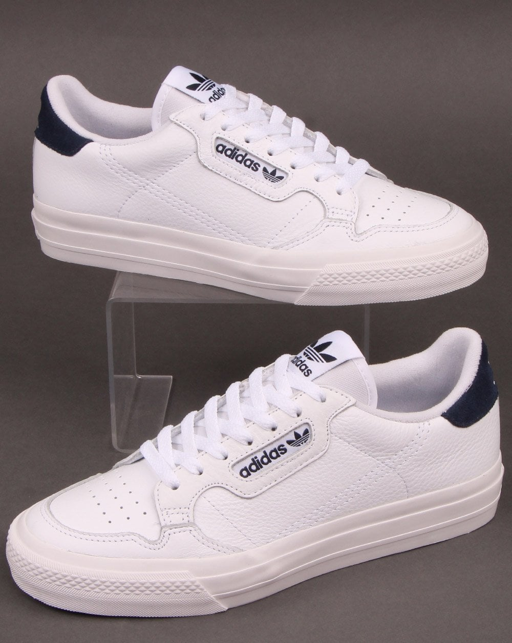 Adidas Continental Vulc Trainers White