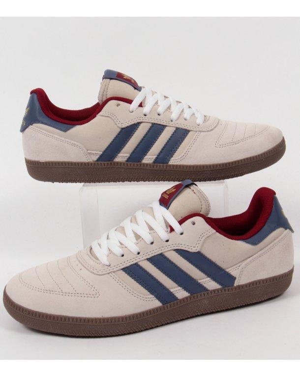 Adidas Copa Pattinare / Formatori Bianco / Marina / Pattinare Borgogna, Originali, Skate 8756f6