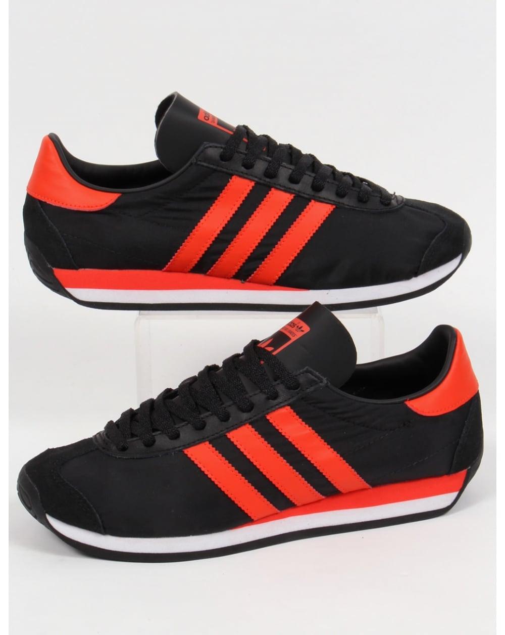 adidas Spezial shoes black orange