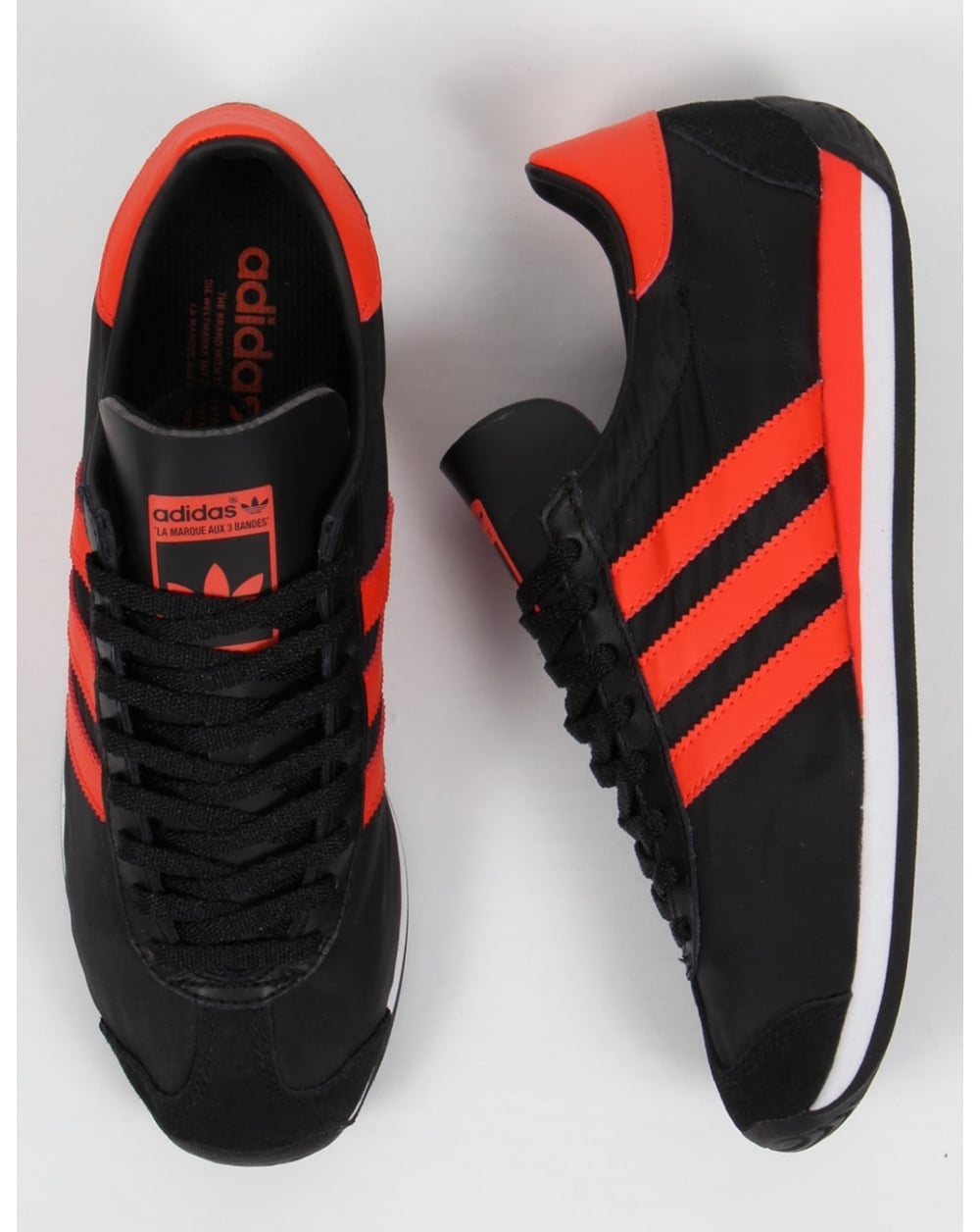 shoes Og Blackorange sneakers Country Trainers mens Adidas originals qO67T