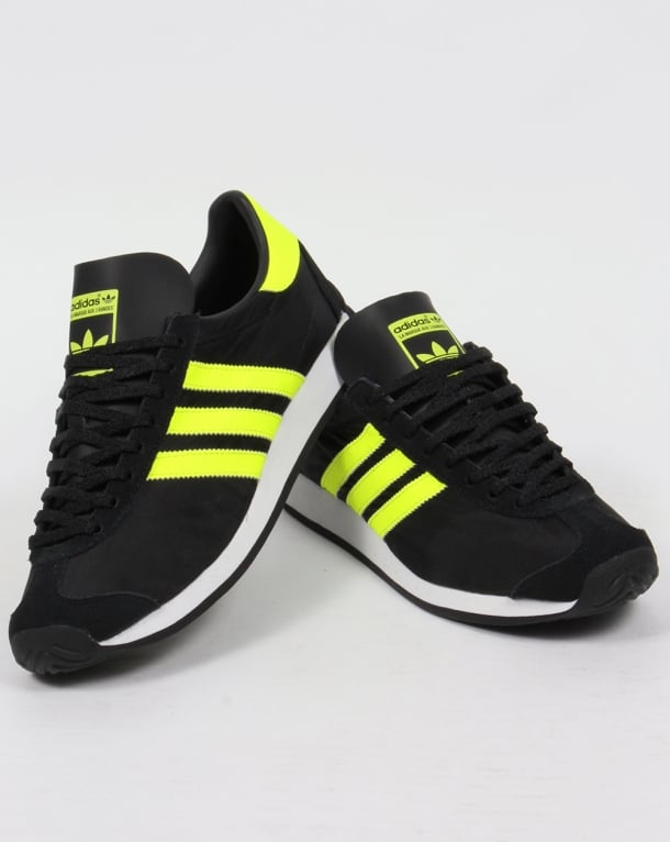 Adidas Country OG Trainers Black/Solar