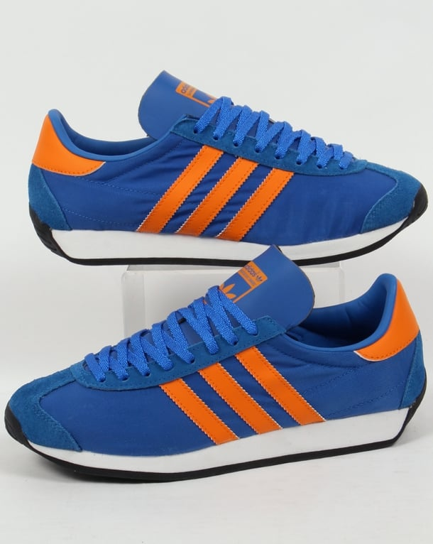 Adidas Country OG Trainers Blue/Orange