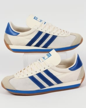 Adidas Trainers Adidas Country OG Trainers Chalk White/Bluebird