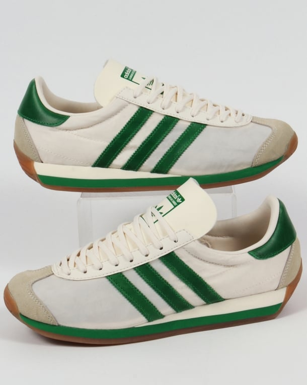 Adidas Country OG Trainers Chalk White/Green