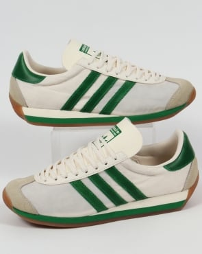 Adidas Trainers Adidas Country OG Trainers Chalk White/Green