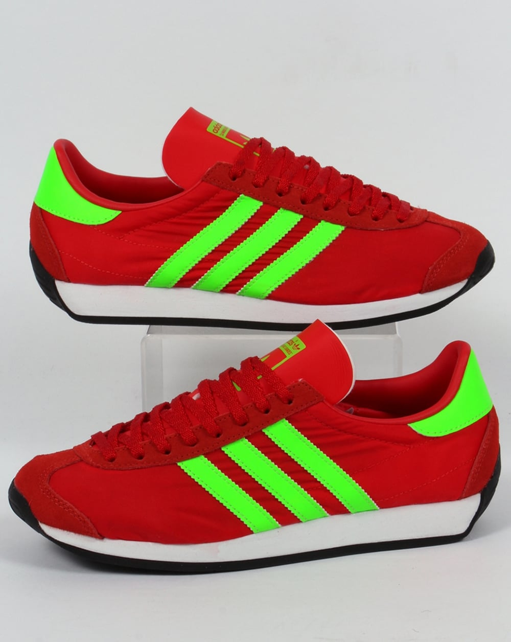 sneakers for cheap c66b9 70d7e adidas Trainers Adidas Country OG Trainers Red Solar Green