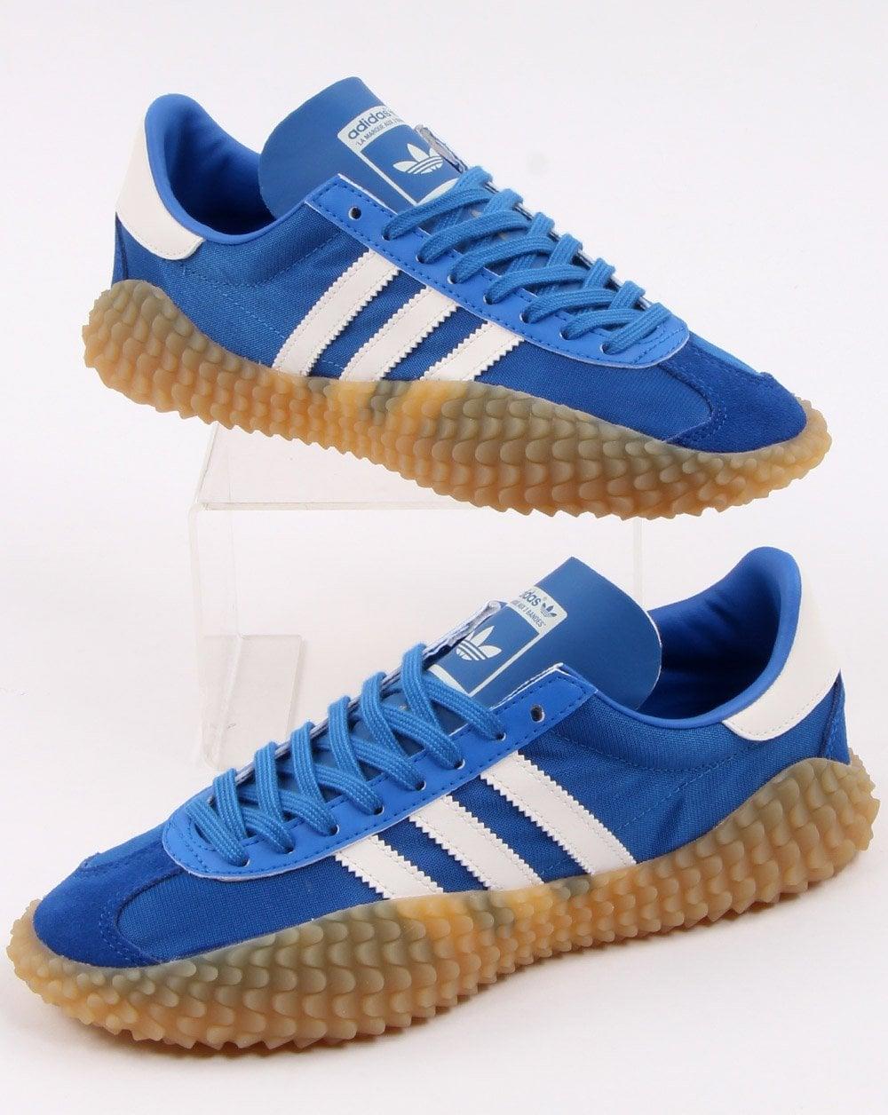 Adidas Country X Kamanda Trainers BlueCloud White