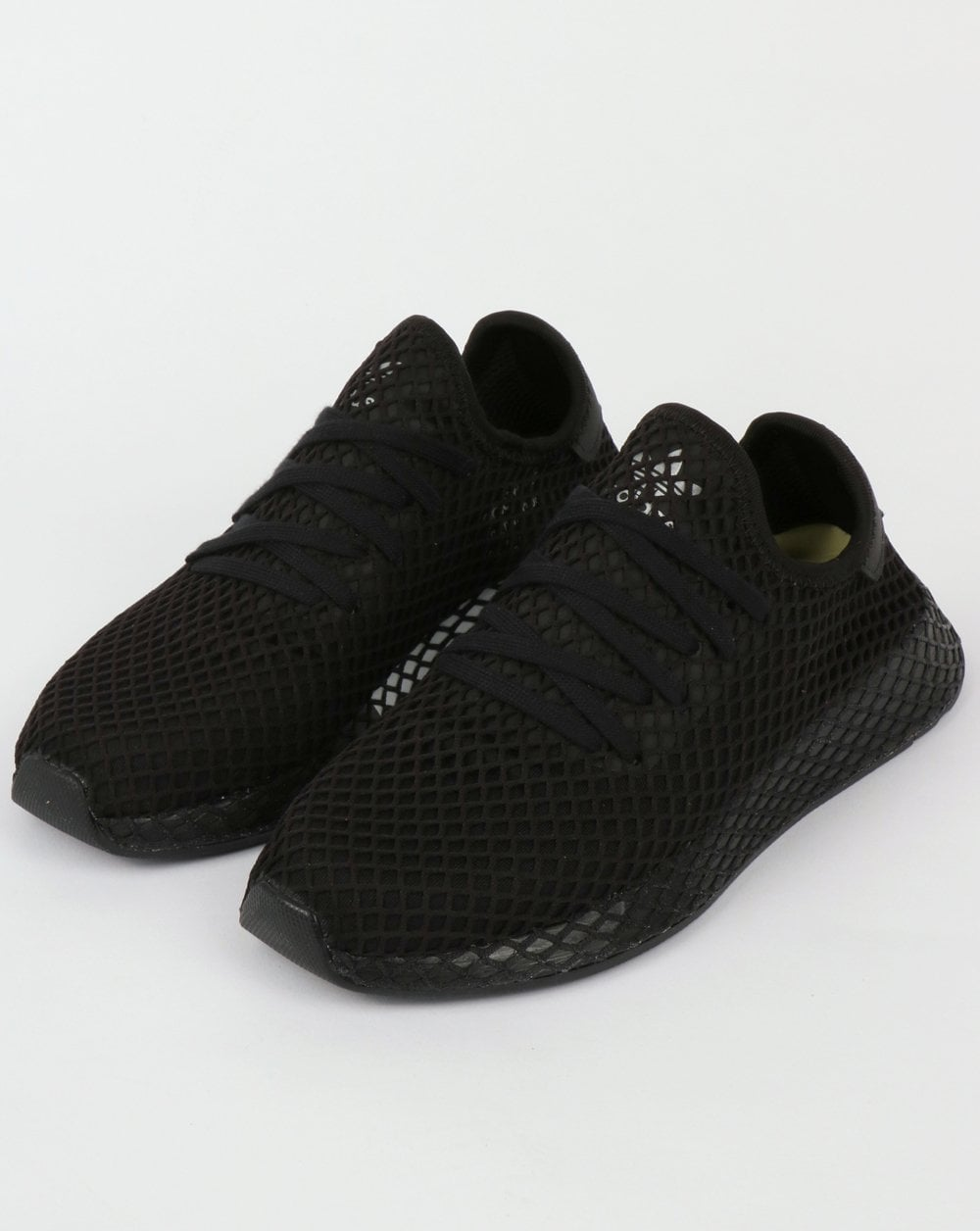 adidas Trainers Adidas Deerupt Runner Trainers Black Black White a825be7ca