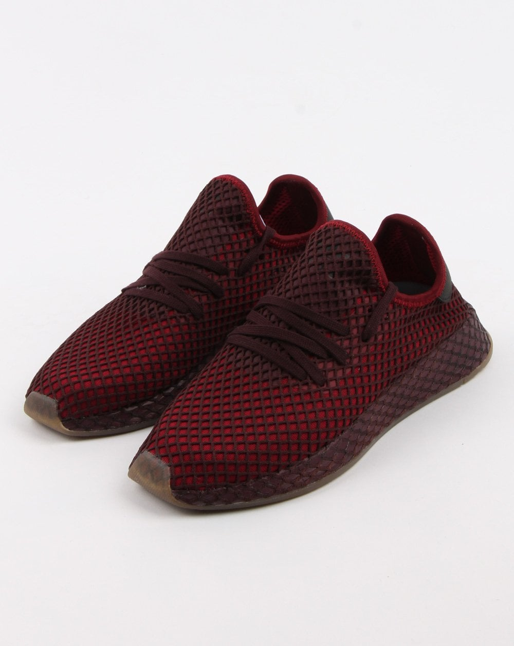 maroon adidas trainers cheap online