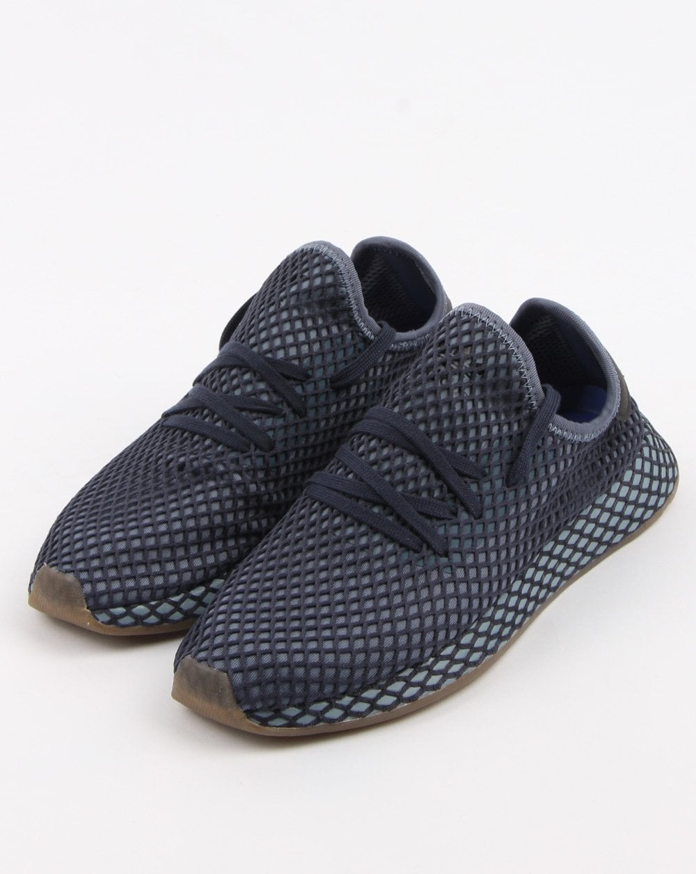 48a232403 adidas Trainers Adidas Deerupt Runner Trainers Dark Blue ash Blue