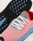 Adidas Deerupt Runner Trainers Solar Red/Bluebird