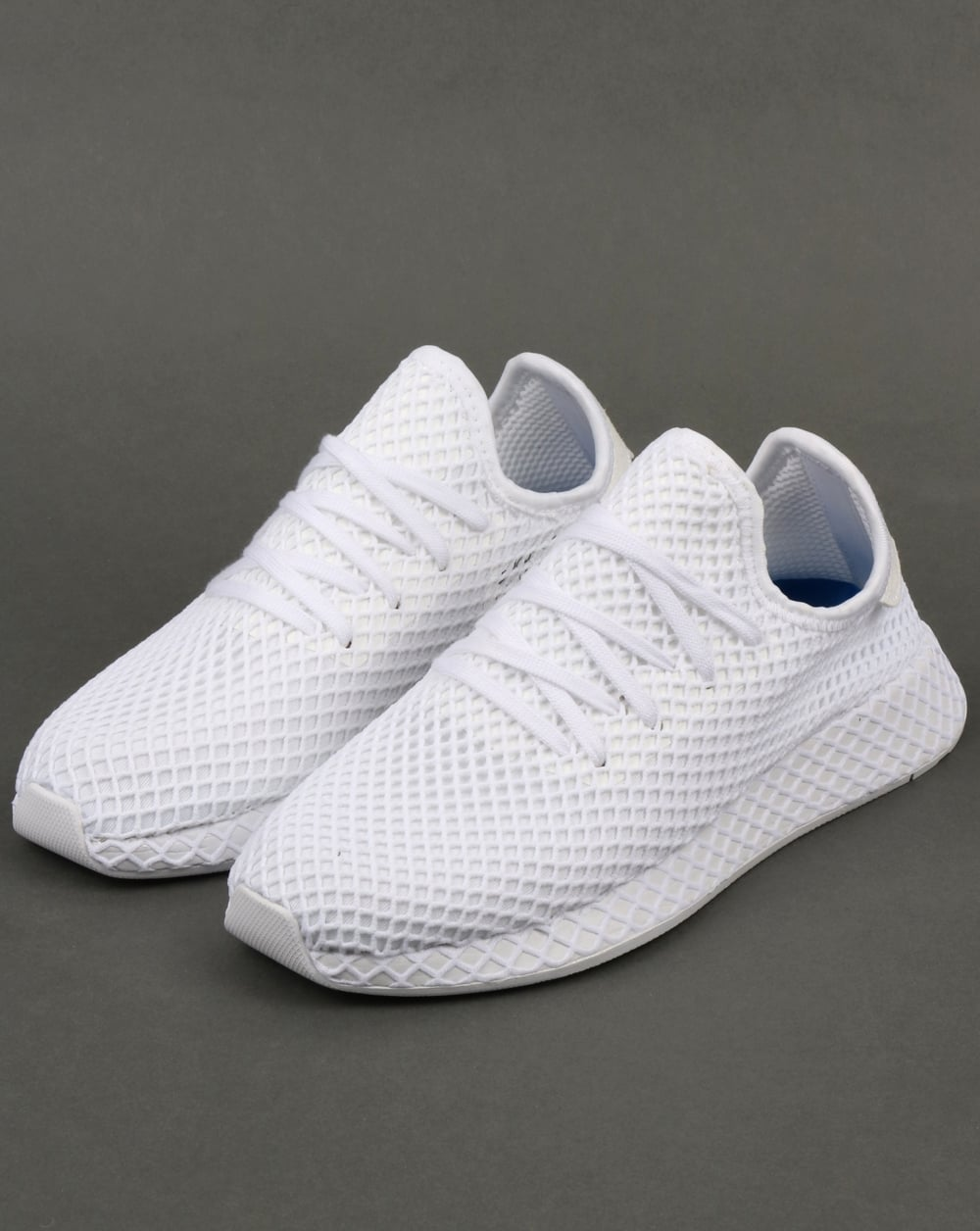 competitive price 3e603 794fb adidas Trainers Adidas Deerupt Runner Trainers White