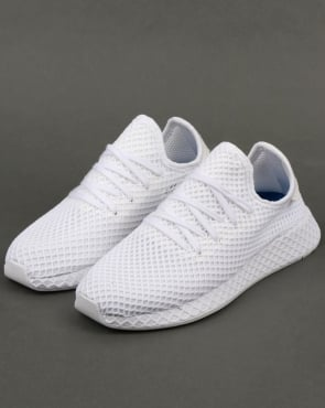 adidas Trainers Adidas Deerupt Runner Trainers White