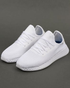 adidas Trainers Adidas Deerupt Runner Trainers White b7dc7dc41f48
