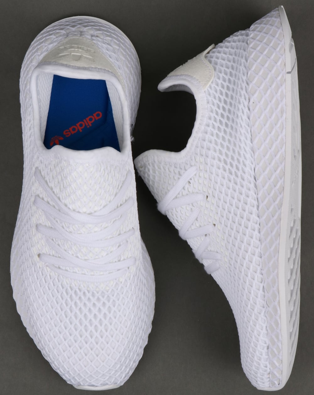 size 40 6f8e4 ce499 Adidas Deerupt Runner Trainers White