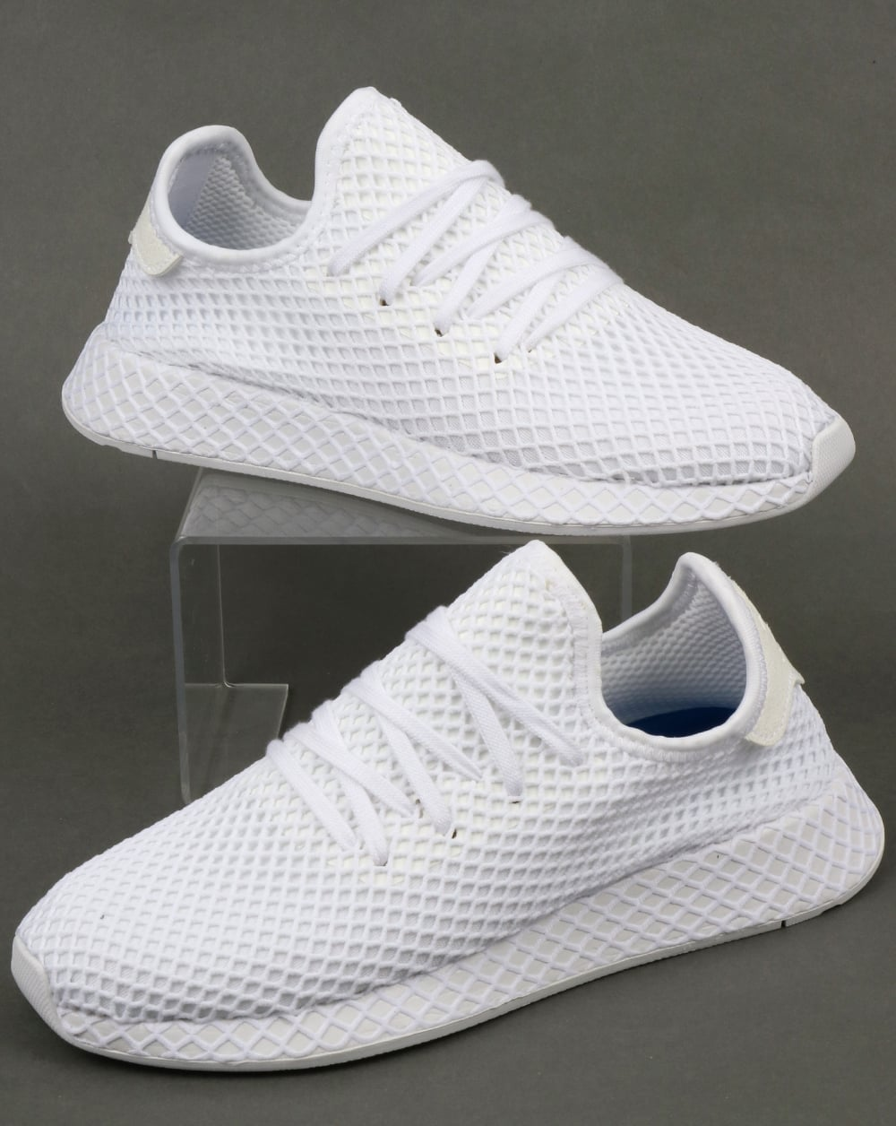 size 40 cac51 6e1a2 Adidas Deerupt Runner Trainers White