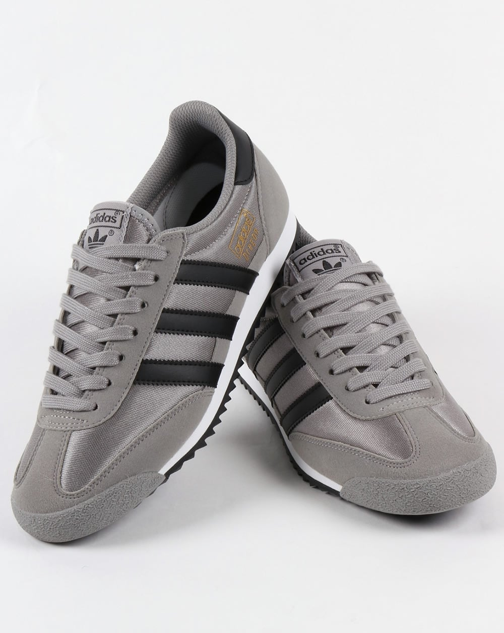 outlet store cc26b 17529 Adidas Dragon OG Trainers Solid GreyBlack