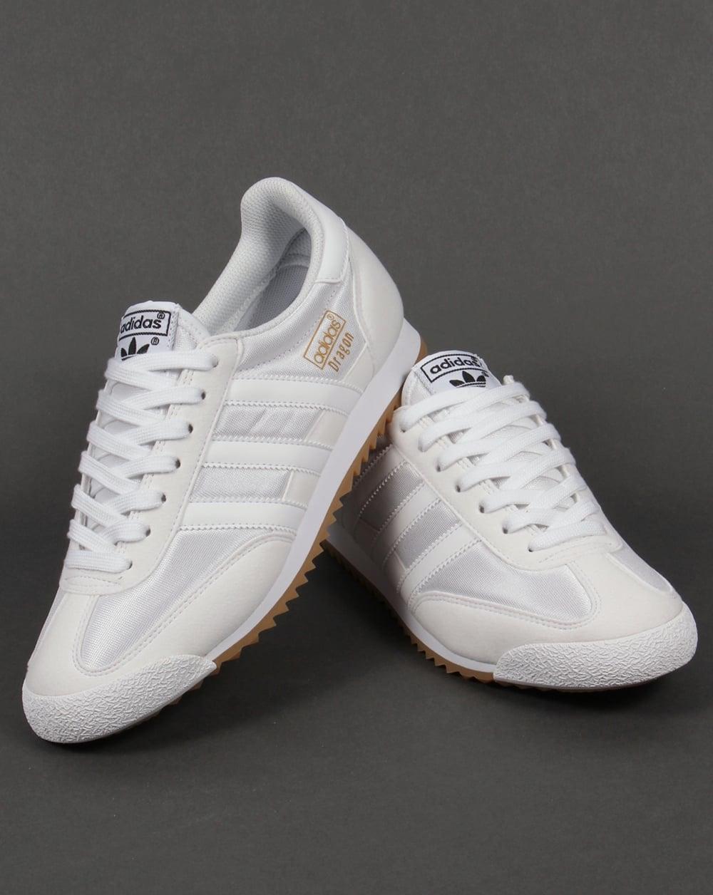 Adidas Dragon Trainers White Whiteoriginalsretrorunners