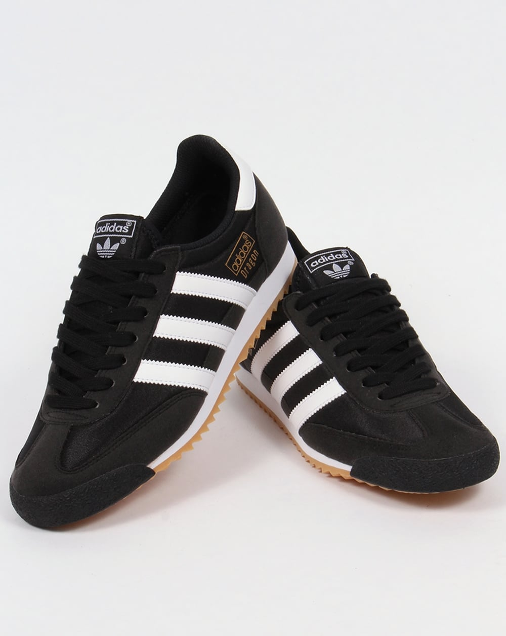 adidas dragon shoes black