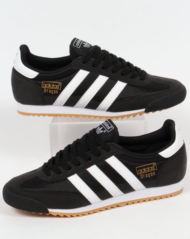 Adidas Dragon Trainers BlackWhite