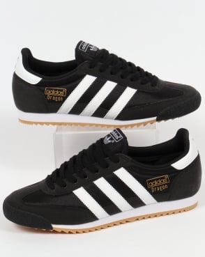 adidas Trainers Adidas Dragon Trainers Black/White